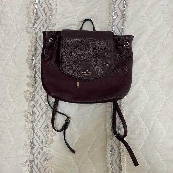 kate spade backpack with original tags